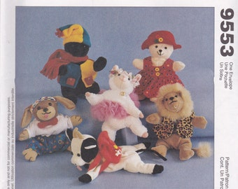 Bambini's Clothing & Accessories Pattern McCalls 9553 Uncut