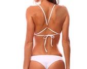 White Seamless Hina Bikini Bottoms