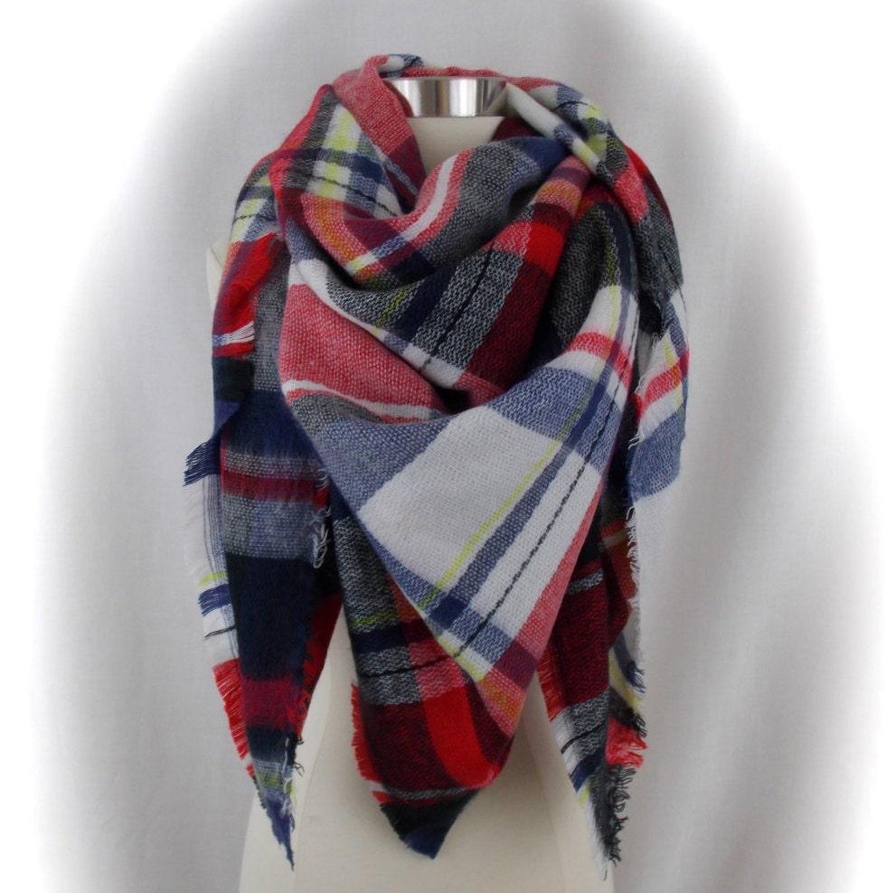oversized blanket scarf blanket scarf tartan scarf