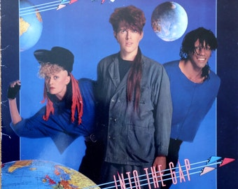 THOMPSON TWINS Into The Gap 1984 German Issue Vinyl lp Album  33 rpm Record Electro Synth pop 80s New Wave 205971