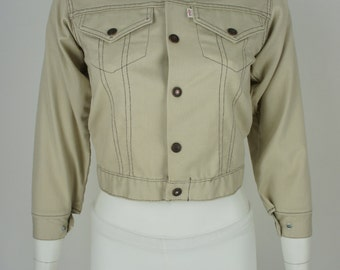 Vintage 1970's 2 Pocket Levi's Jacket size Youth 12/Ladies XS