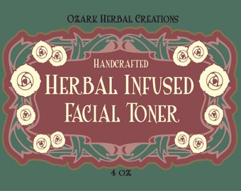Herbal Infused Facial Toner