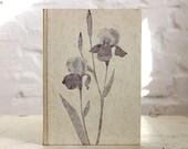 """Handmade Journal Tartuensis Artisan """"Iris"""", Altered Book, Vintage Guest Book"""