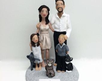 Custom Anniversary Cake Topper