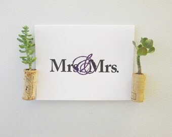 Mrs. & Mrs. - Marriage Equality Card