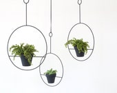 Mid Century Inspired Hanging Plant Holder