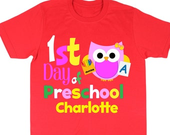 Preschool shirt   Etsy