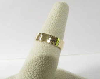14K Gold Ring, Solid Gold Ring, Gold Wedding Band, Engagement Ring, Handmade Ring