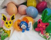 Pokemon Mystery Eggs : 6 Surprise Toys