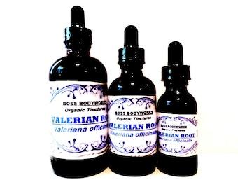 Organic VALERIAN ROOT Tincture - Valeriana officinalis Herbal Extract, fair trade, kosher, gluten-free, non-GMO