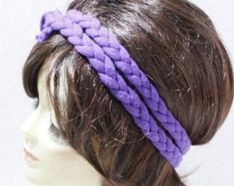Yoga Headband Boho Hairband Fabric Braided Hippie Headband with Hippie Chic Yoga Headband Hair Wrap