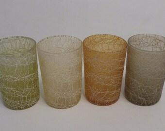 Mid Century Spaghetti - Juice Glasses