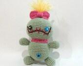Disney Scrump Doll Lilo and Stitch Amigurumi Crochet Handmade