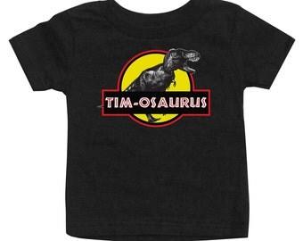 Personalized T-Rex Dinosaurs shirt for boys, T-Rex Dinosaur shirt