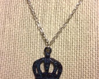 """16"""" Violet Purple Crown Necklace"""