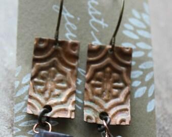 Copper & Dumortierite