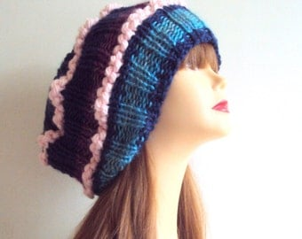 End of Season SALE! Super Slouchy  Oversized Hat Chunky Baggy Hat  Winter Hat Gift Ideas