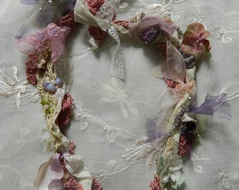 Shabby romantic necklace