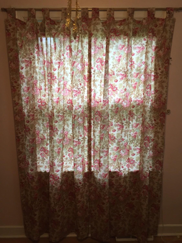 martha stewart curtain panels tab top curtain panels long