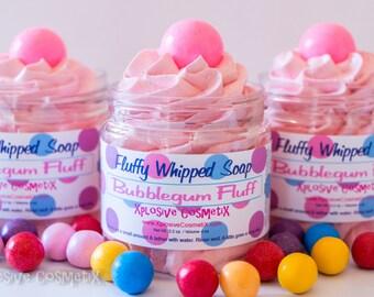 Fluffy Whipped Soap - Bubblegum Fluff 4 oz. Vegan