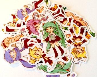 Vocaloid Sticker Pack