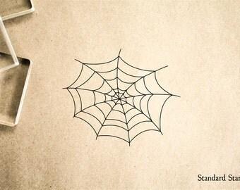 Cobweb Rubber Stamp - 2 x 2 inches