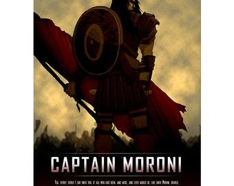 Captain Moroni Poster