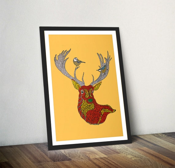 Stag Wall Art - Elitflat