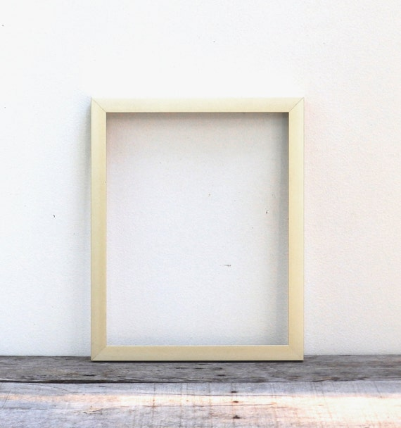18x24 simple modern gold finish picture frame brushed light gold mid century modern style frame