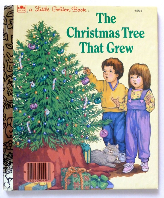 Sale vintage children 39 s books the christmas tree that for Christmas tree made from old books