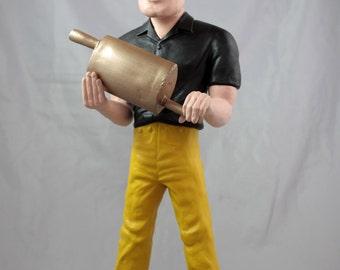 The Muffler Man Statue:  King of the Mufflers