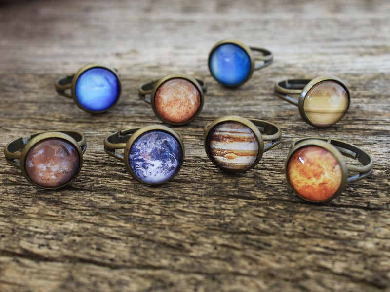 Planet Ring Solar System Ring Vintage Planet by ...
