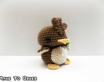 Crochet Farfetch'd Inspired Chibi Pokemon