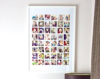 Framed Photo Collage 48