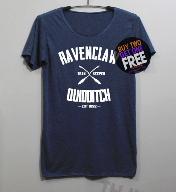 Ravenclaw Quidditch Shirt Harry Potter Shirt by ...