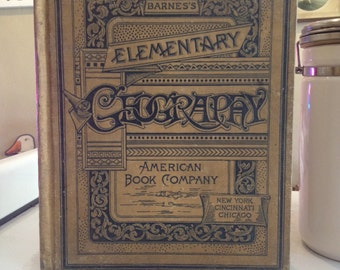 Antique Barnes's Elementary Geography from American Book Company
