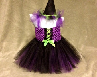 Witch Halloween Tutu Costume