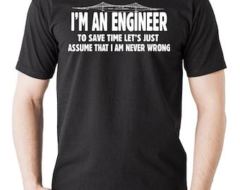 Engineer T-Shirt Tacoma Narrows Bridge Tee Shirt Gift For Engineer Shirt