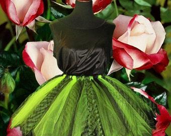Safari Apple Green Adult Tutu Skirt