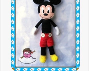 Crochet Mickey Mouse Doll Pdf Pattern