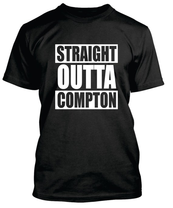Straight Outta Compton Hip Hop T Shirt Lots of by ShirtLife365