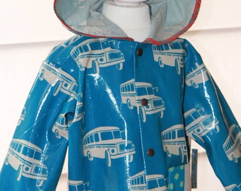 Great rain coat for children with hood