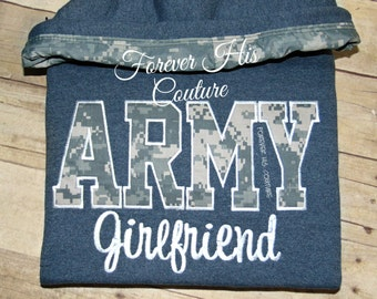 ARMY Girlfriend pullover Army Army wife Army Mom Army Girlfriend Military Wife Milso Military pullover Soldier Combat Boots Army Strong