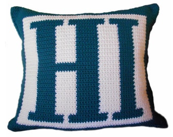 HI Crochet Pillow