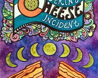 The String Cheese Incident Red Rocks Poster 2015
