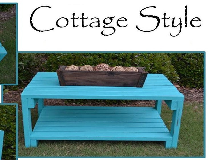 Cottage Style Coffee Table By SimplySouthernHome On Etsy