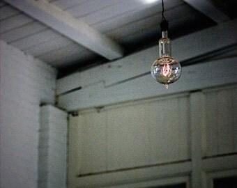 Available Light - Original Fine Art Photograph - Edison Light Bulb