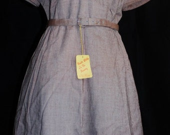 """Kay Windsor Vintage Dress Dead Stock 35""""W"""