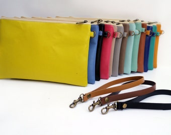 Personalize Clutch/ Vegan Leather clutch / Bridesmaids clutch / Leather clutch /wristlet / bridesmaid gift / custom order / express shipping