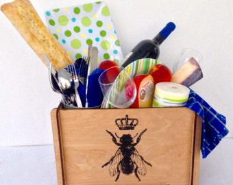 Bee-utiful and Functional Storage Box For Home Or Office